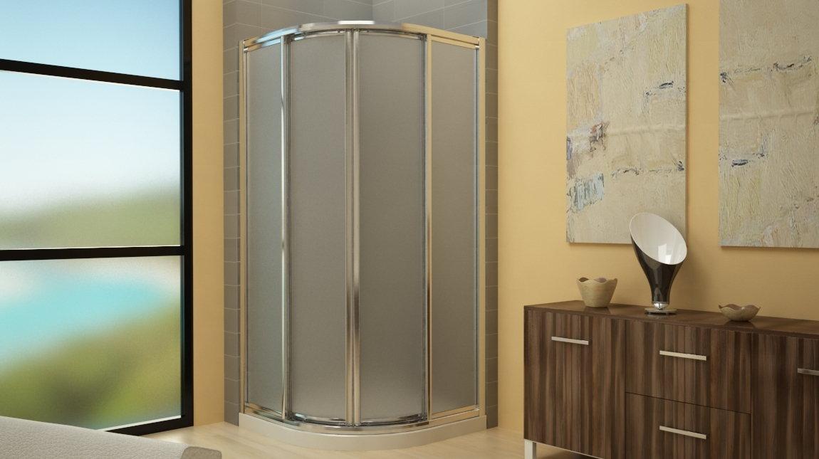 Mampara de ducha circular plus mundilite - Perfiles mamparas ducha ...