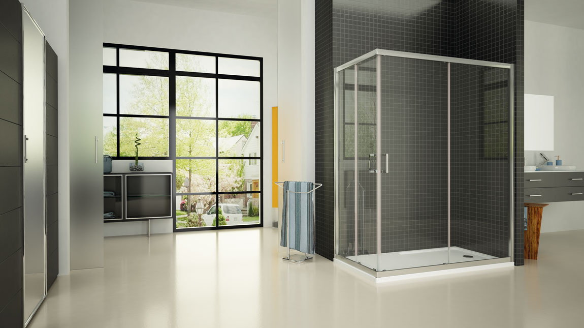 Mampara de ducha x 100 sq mundilite - Perfil mampara ducha ...