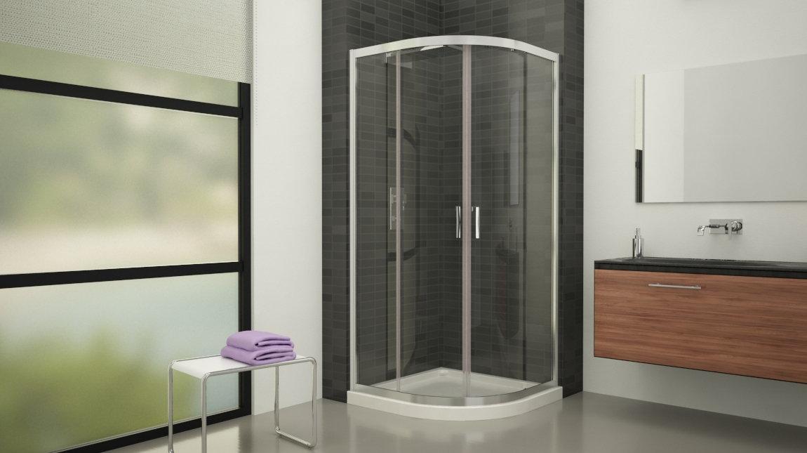 Mampara de ducha x 90 c mundilite for Mampara ducha 70 x 90