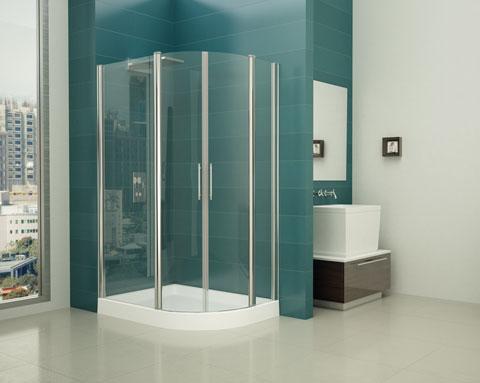 Mamparas de ducha circulares Mundilite