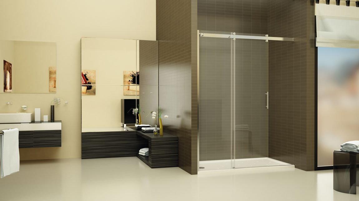 Mampara de ducha alaska smart open mundilite - Perfiles mamparas ducha ...