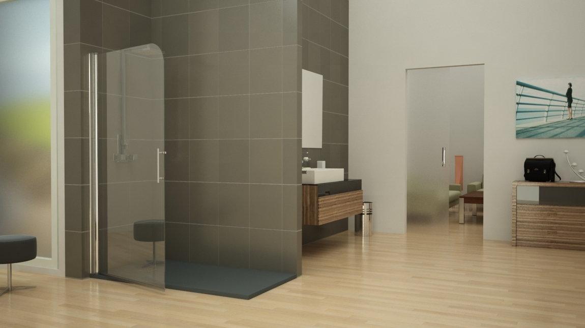 Mampara de ducha bari perfil mundilite for Perfil mampara ducha