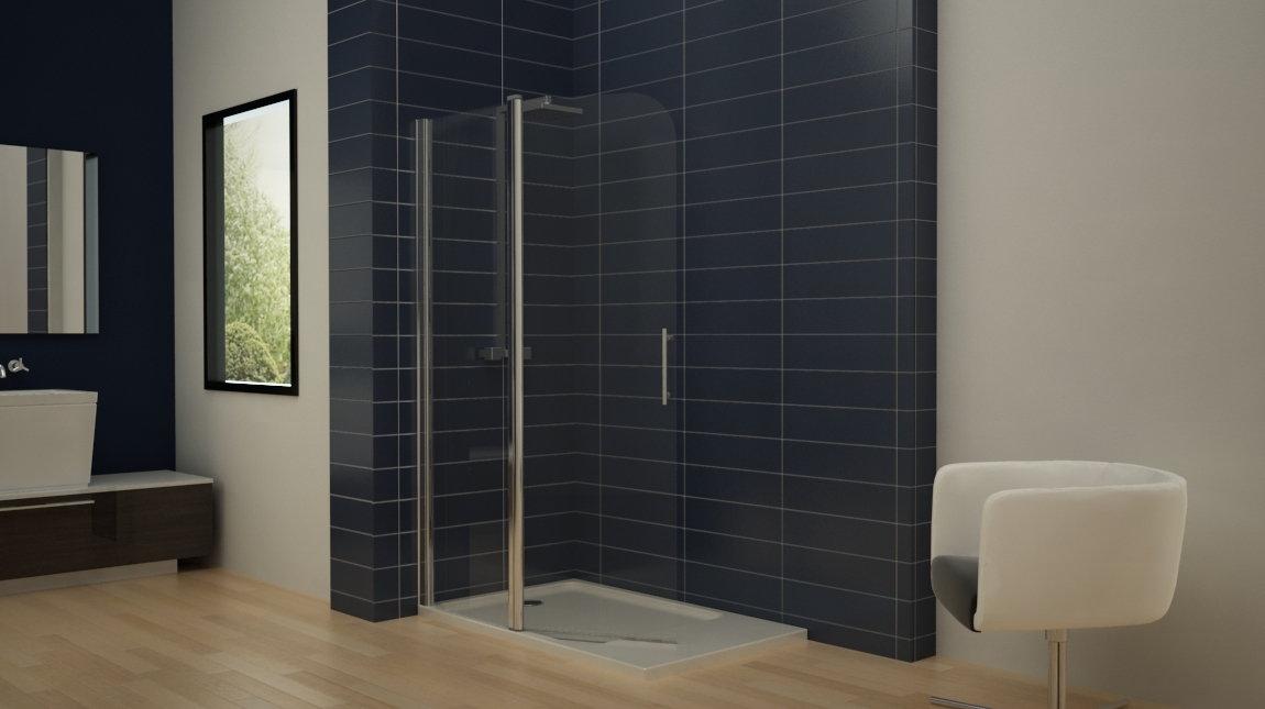 Mampara de ducha bari 2 perfil mundilite - Perfiles mamparas ducha ...