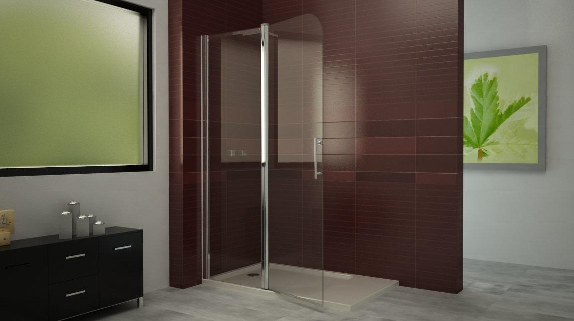 Mampara de ducha bari 2 perfil mundilite for Perfil mampara ducha