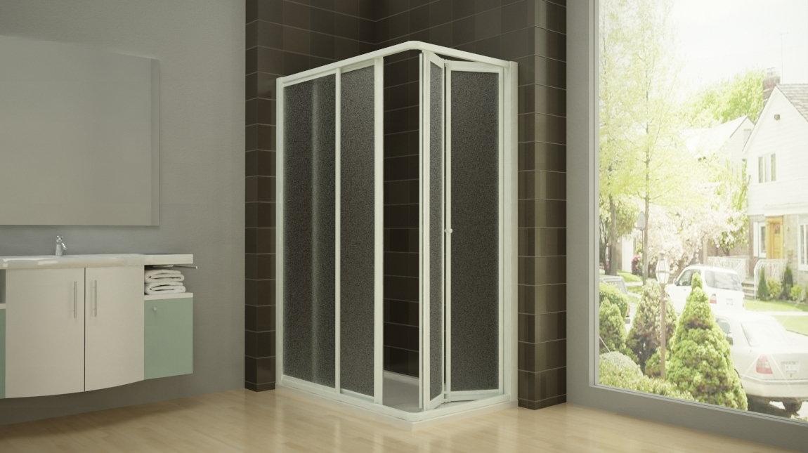 Mampara de ducha cairo mundilite - Mampara plegable ducha ...