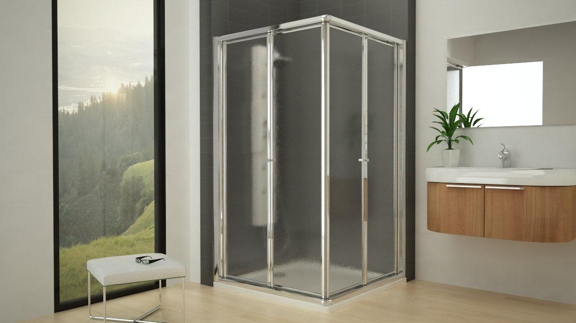 Mampara de ducha dakar mundilite - Mampara plegable ducha ...