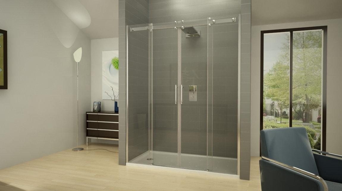 Mampara de ducha oporto smart mundilite - Perfiles mamparas ducha ...