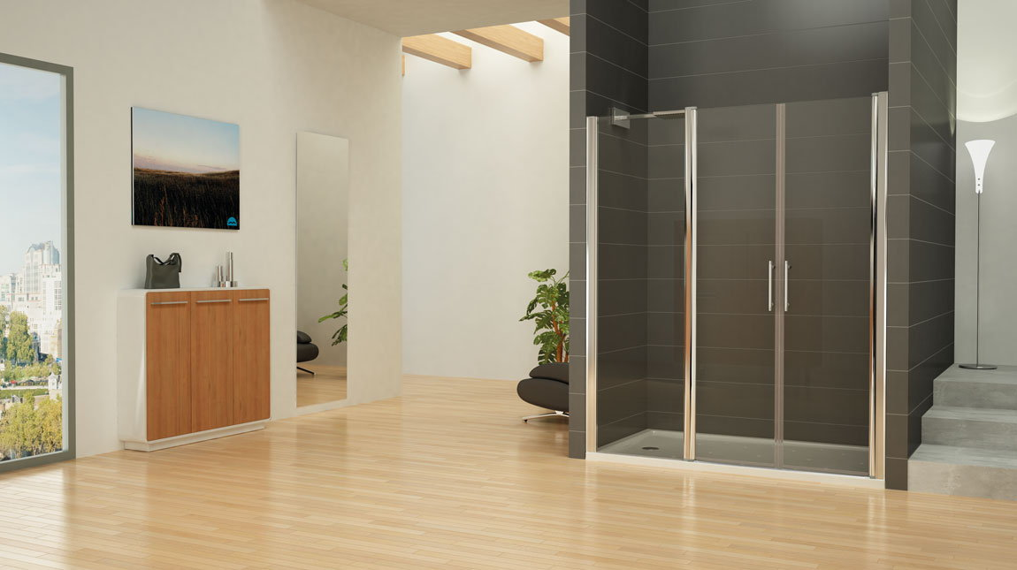 Mampara de ducha palermo mundilite - Perfil mampara ducha ...