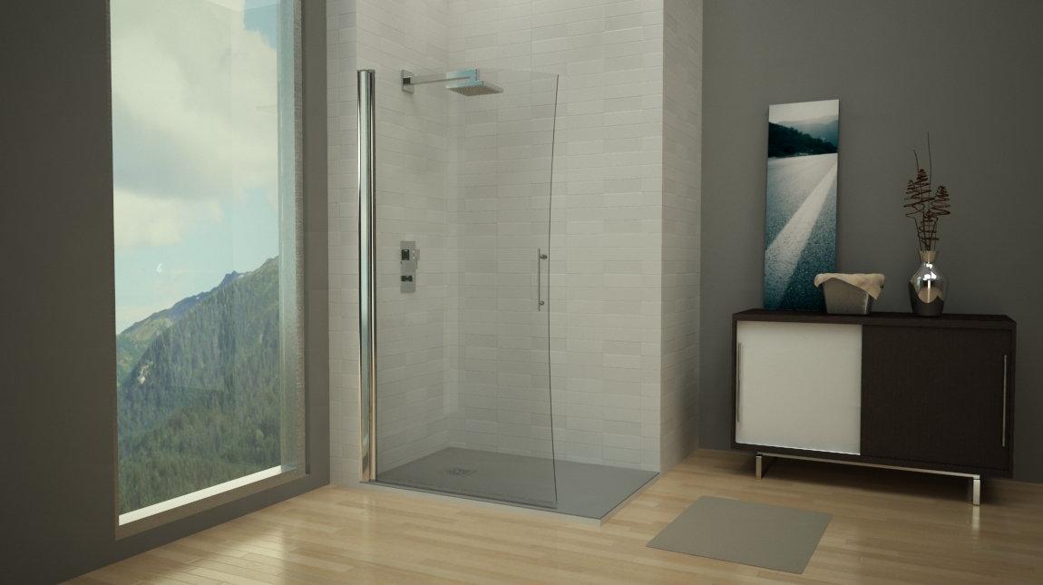Mampara de ducha pek n perfil mundilite - Perfiles mamparas ducha ...