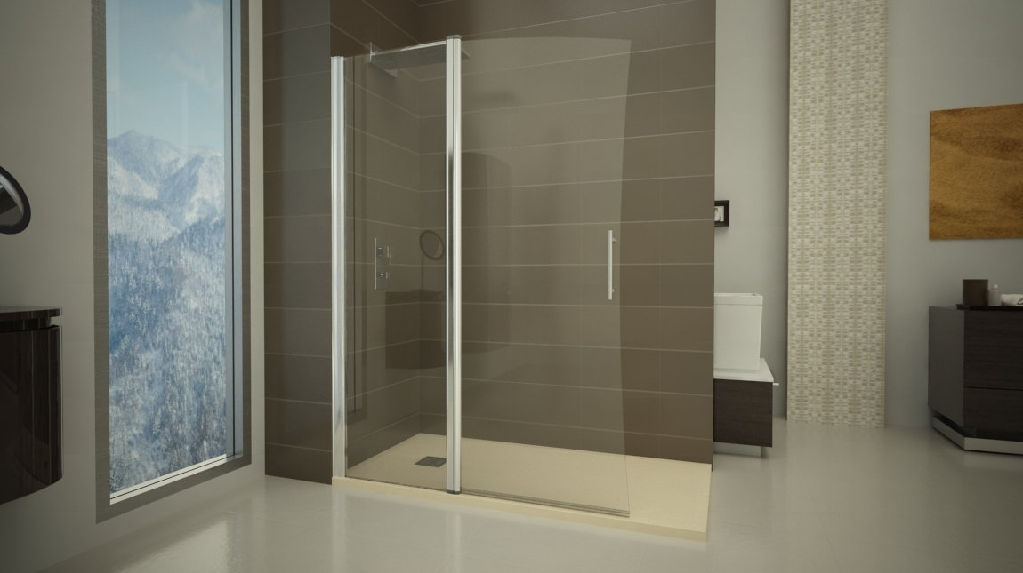 Mampara de ducha pek n 2 perfil mundilite - Perfiles mamparas ducha ...