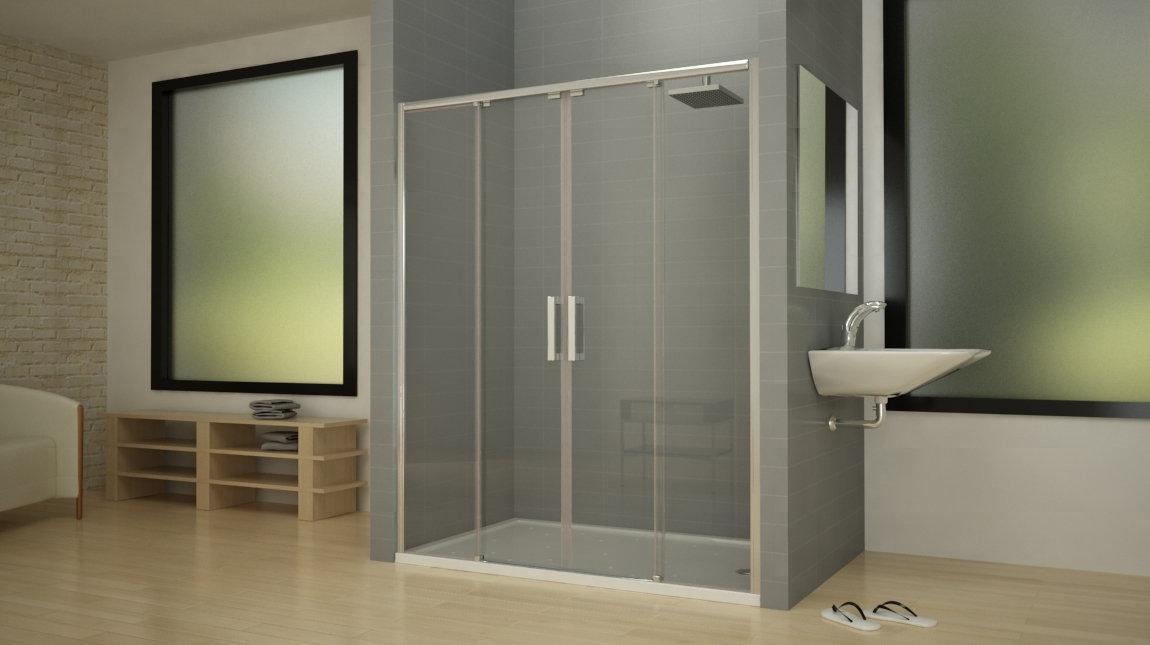 Mampara de ducha opsp mundilite - Perfil mampara ducha ...
