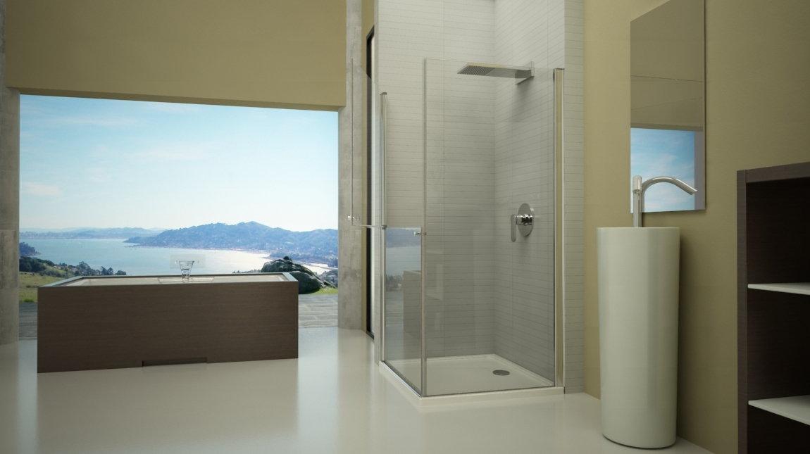 Mampara de ducha d 40 mundilite - Perfil mampara ducha ...