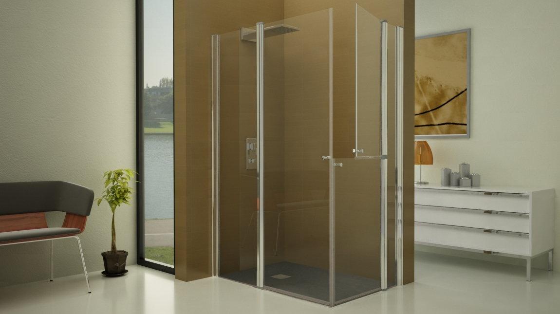 Mampara de ducha d 50 mundilite - Perfil mampara ducha ...