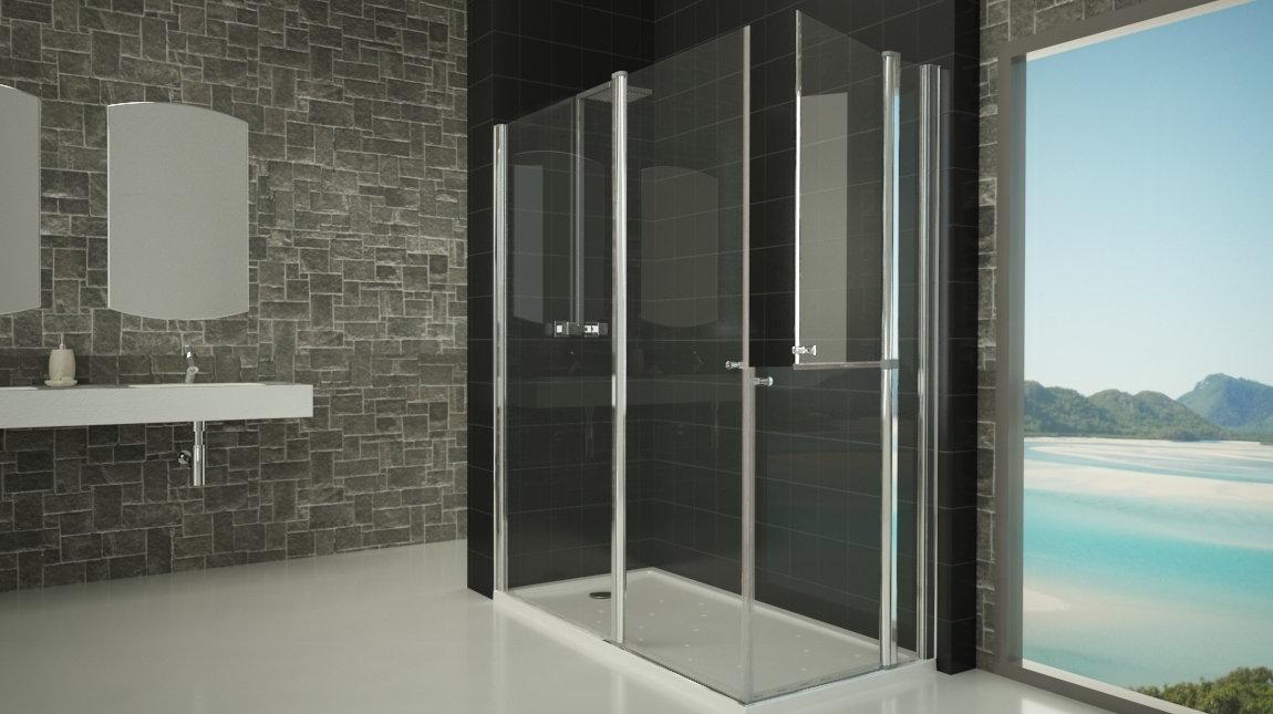 Mampara de ducha d 50 mundilite - Perfiles mamparas ducha ...