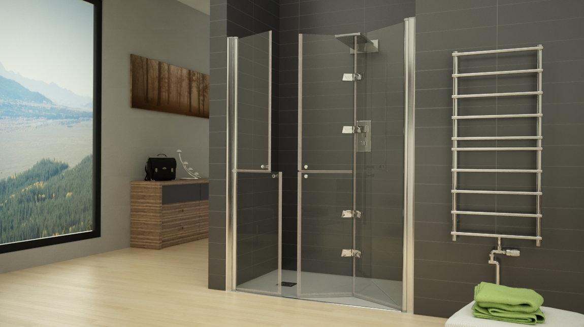 Mampara de ducha d 60 mundilite - Perfil mampara ducha ...