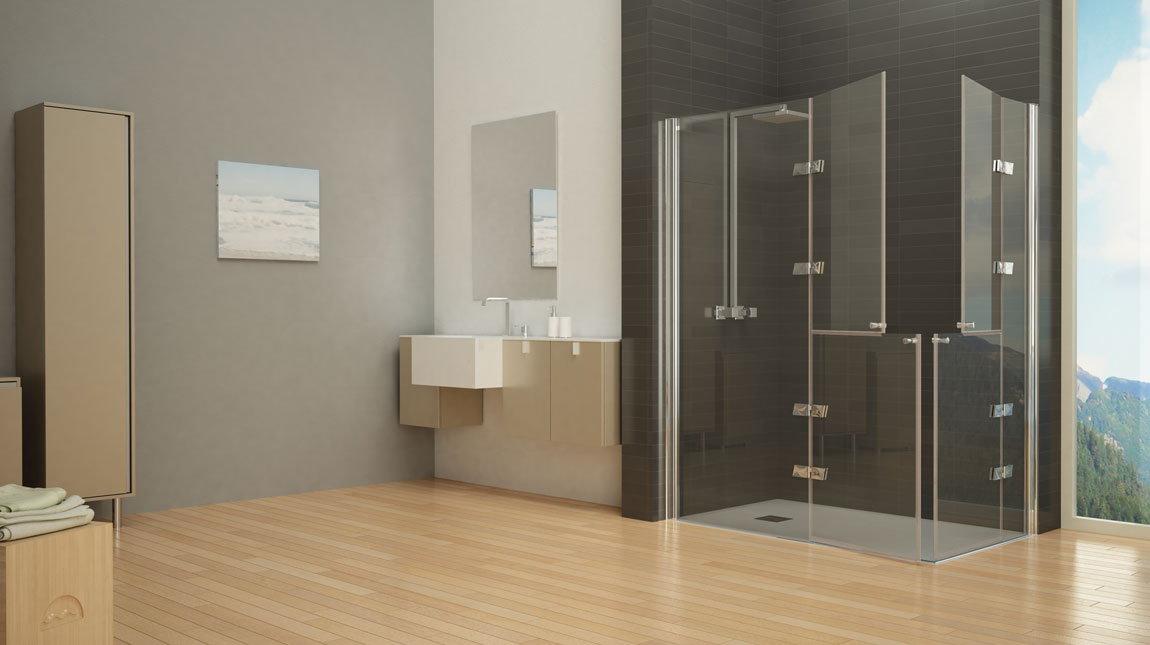 Mampara de ducha d 80 mundilite - Perfiles mamparas ducha ...