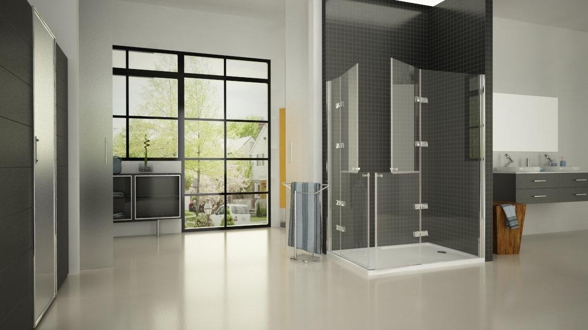 Mampara de ducha d 80 mundilite - Perfil mampara ducha ...