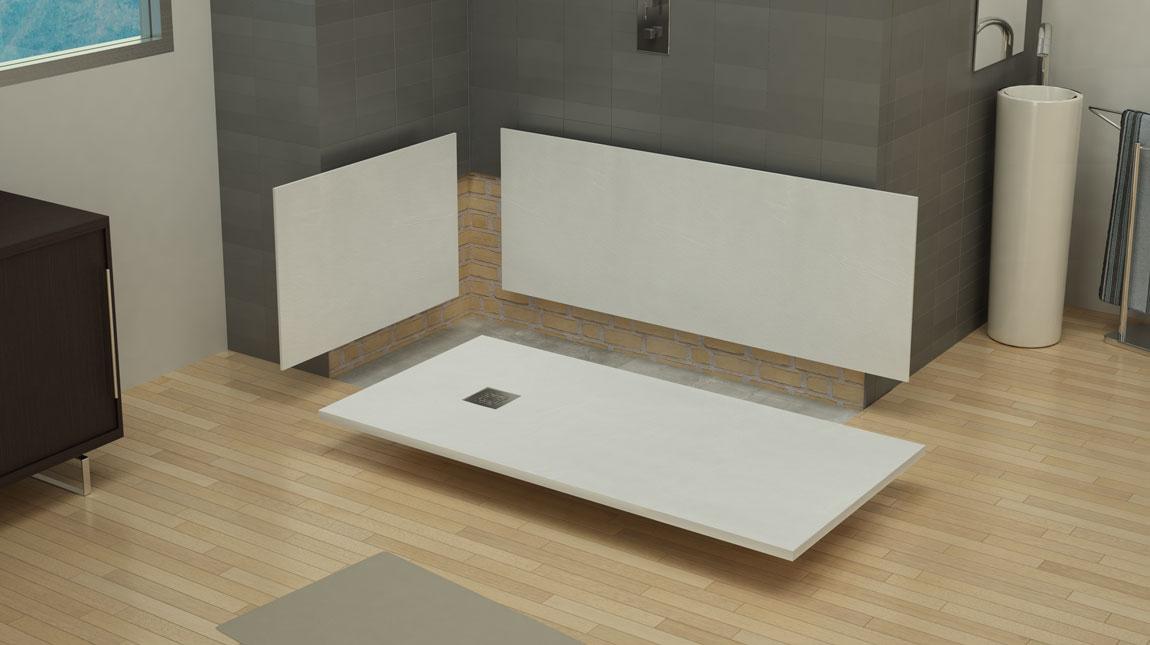 St one paneles mundilite - Banera para plato de ducha ...