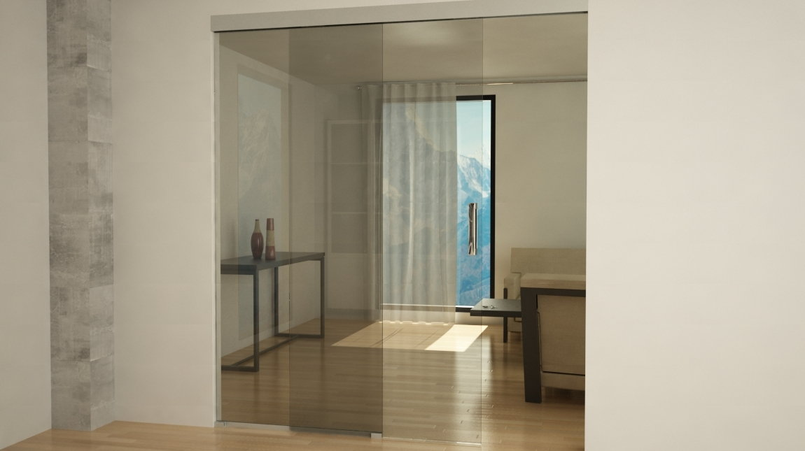Puerta de paso pt 101 mundilite - Puerta vidrio corredera ...
