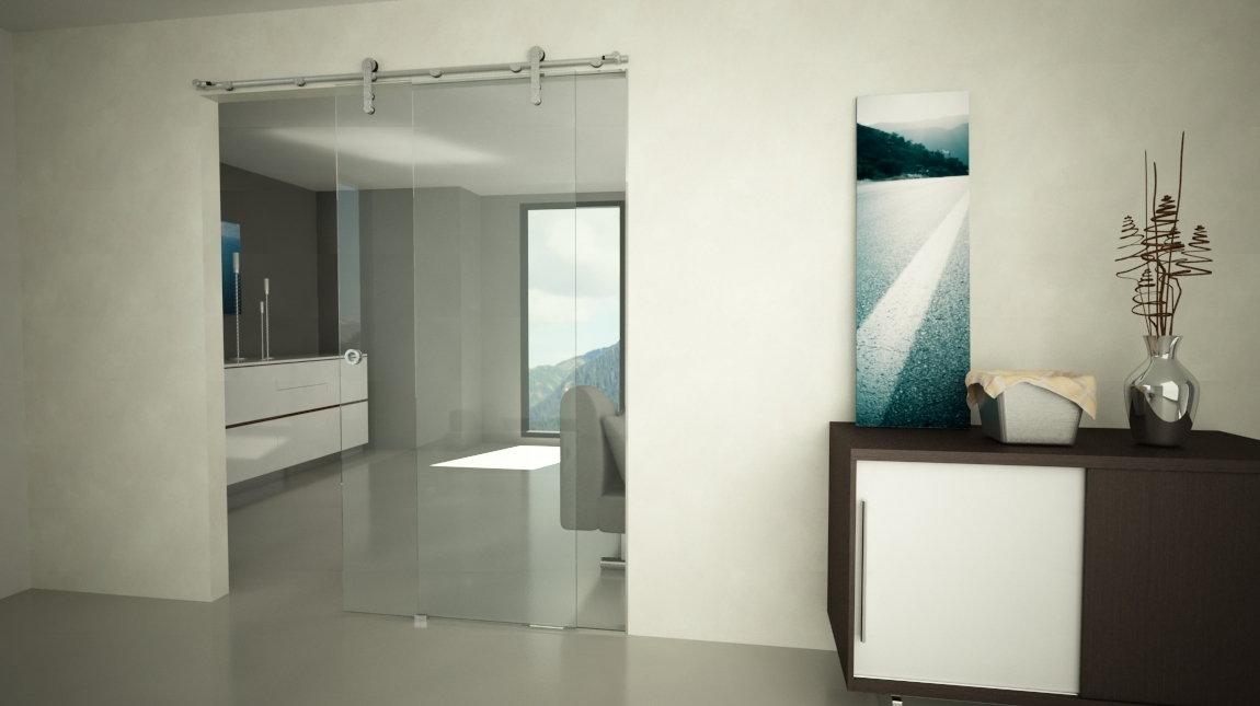 Puerta de paso pt 201 mundilite for Puertas correderas de cristal para exterior