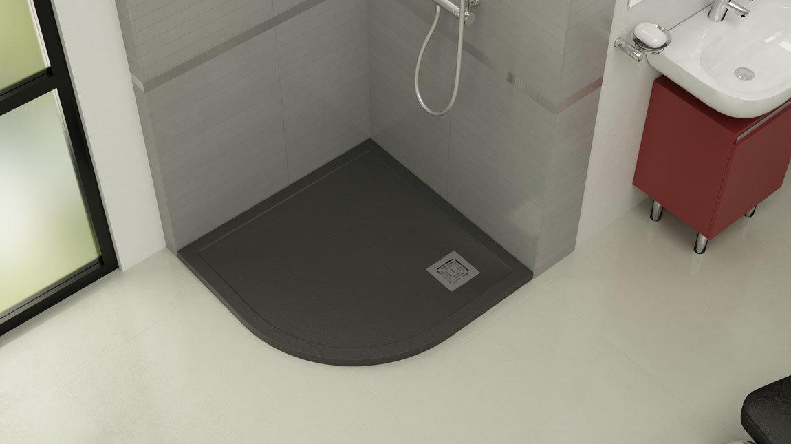 Ahorra espacio en ba os peque os mundilite - Plato de ducha pequeno ...