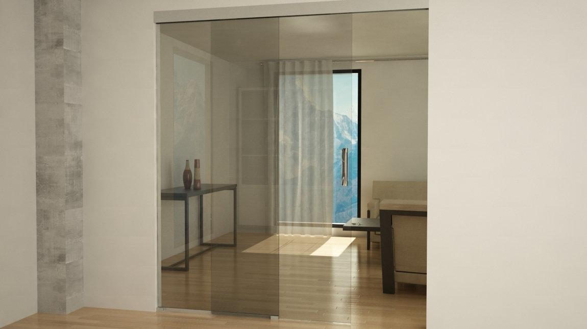 Las ventajas de elegir puertas correderas de cristal for Correderas de vidrio
