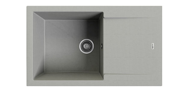supreme sink 880, cement gray finish