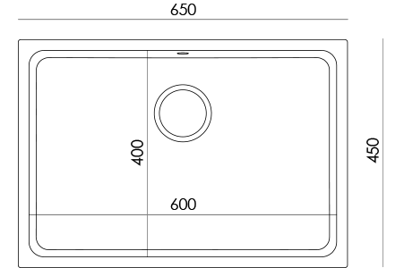 Informazioni tecniche lavelli Premier 650