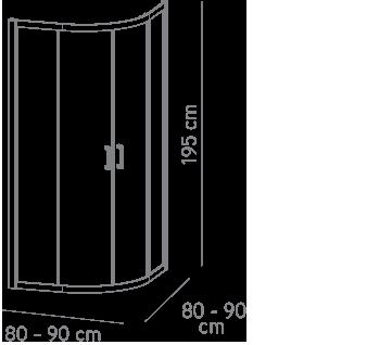 técnico-mampara-x-serie-medidas-fabricación-x90c