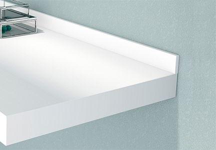 Accesorio para baño: Copete diferentes texturas y colores