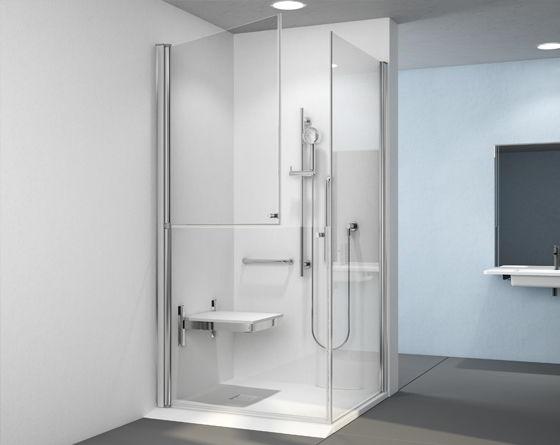 mampara de ducha para personas con discapacidad